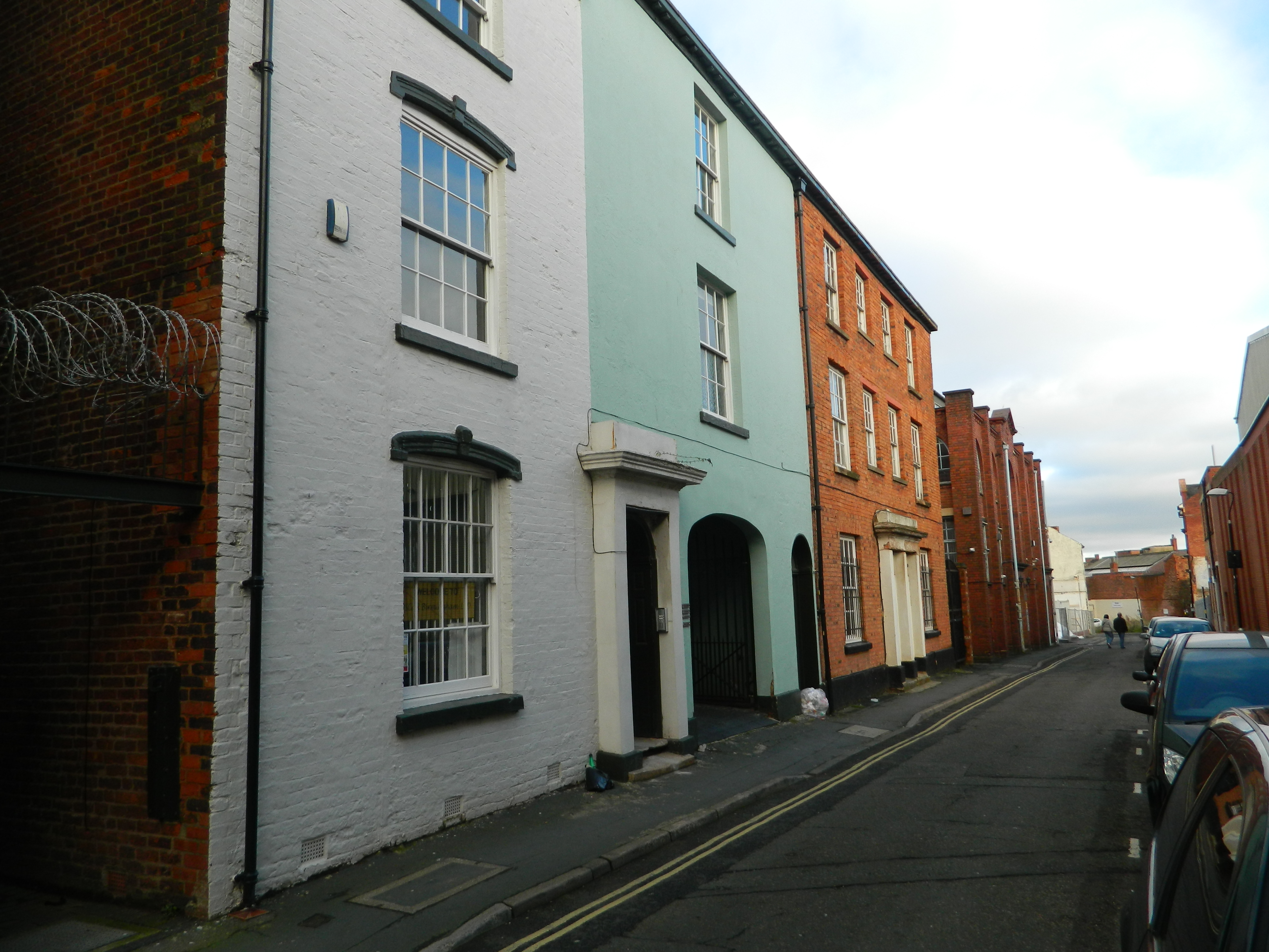 One of The Street in Birmingham's Jewellery Quarter