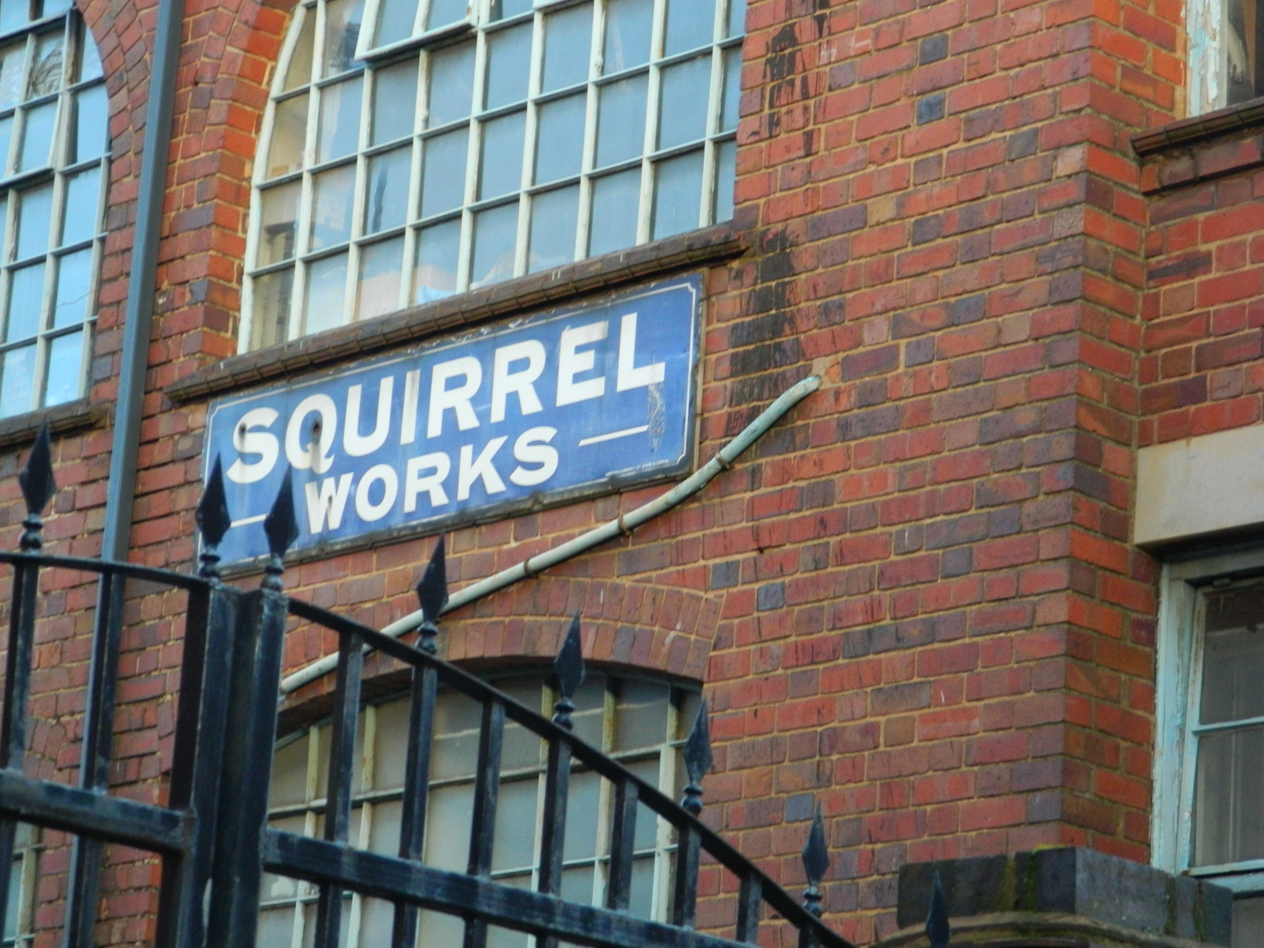 Squirrel Works Building Jewellery Quarter Birmingham