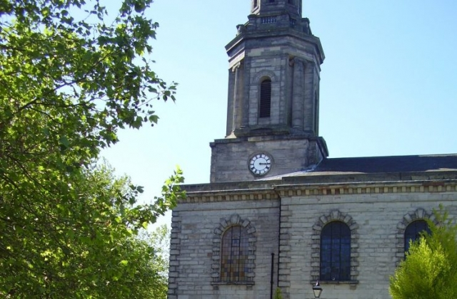 St Paul's Church Grade 1 listed Built 1779  Jewellery Quarter Birmingham Photo 2008 Joseph Burke
