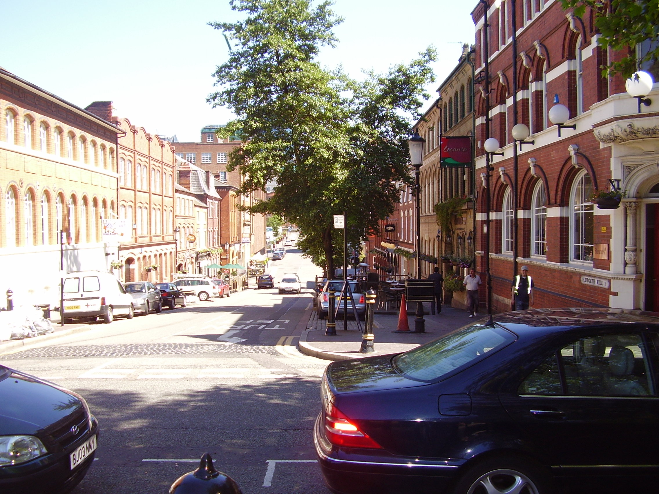 2008 Street view photo 2 of the Jewellery Quarter Birmingham
