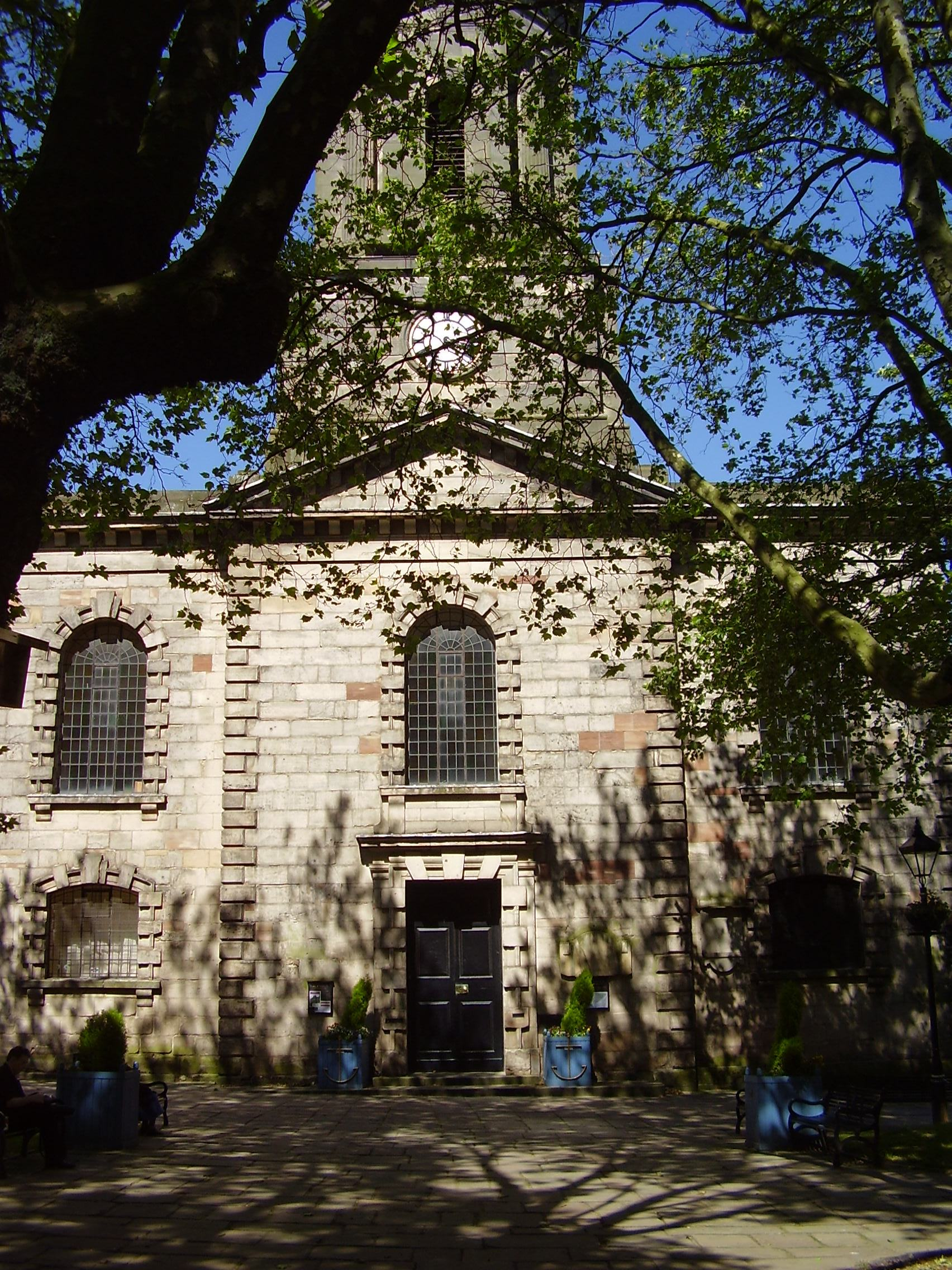 St Paul's Church Grade 1 listed Built 1779 Photo 2008 Jewellery Quarter Birmingham