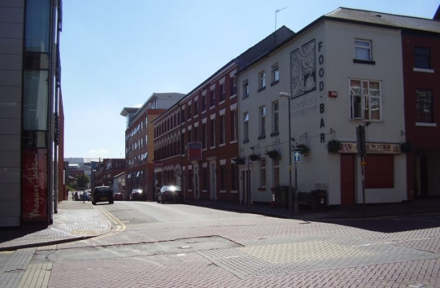2008 Street view photo 25 of the Jewellery Quarter Birmingham
