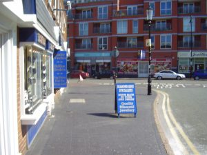 2008 Street view No 9 of the Jewellery Quarter Birmingham