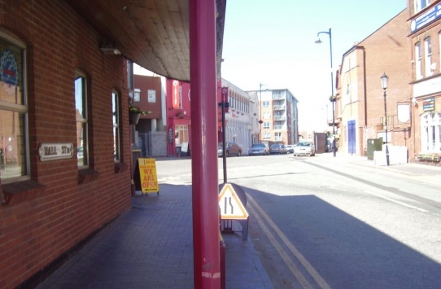 2008 Street view of the Jewellery Quarter Birmingham 7