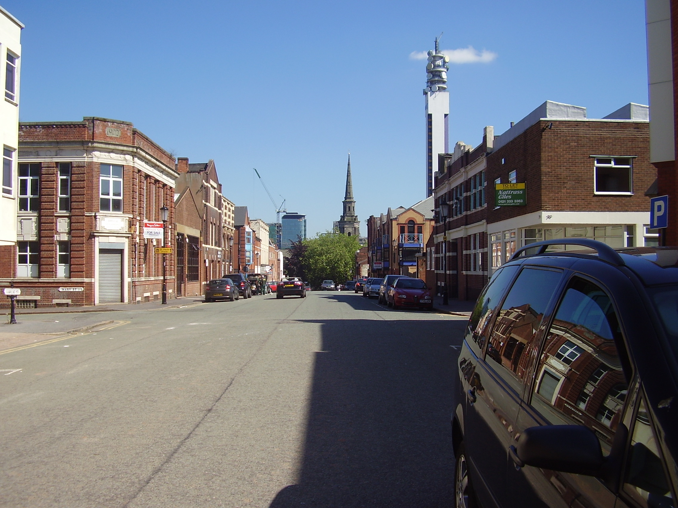 2008 Street view of the Jewellery Quarter Birmingham 5