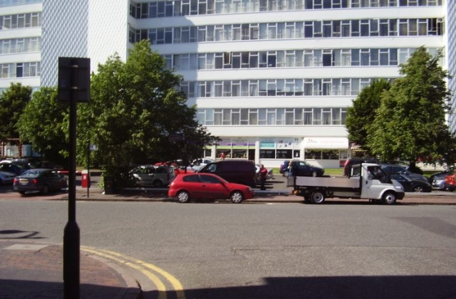 2008 Street view of the Jewellery Quarter in Birmingham 3