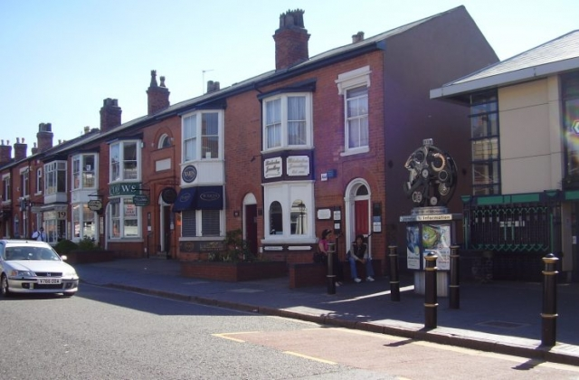 Jewellery Shops in Vyse St, Jewellery Quarter Birmingham 2008