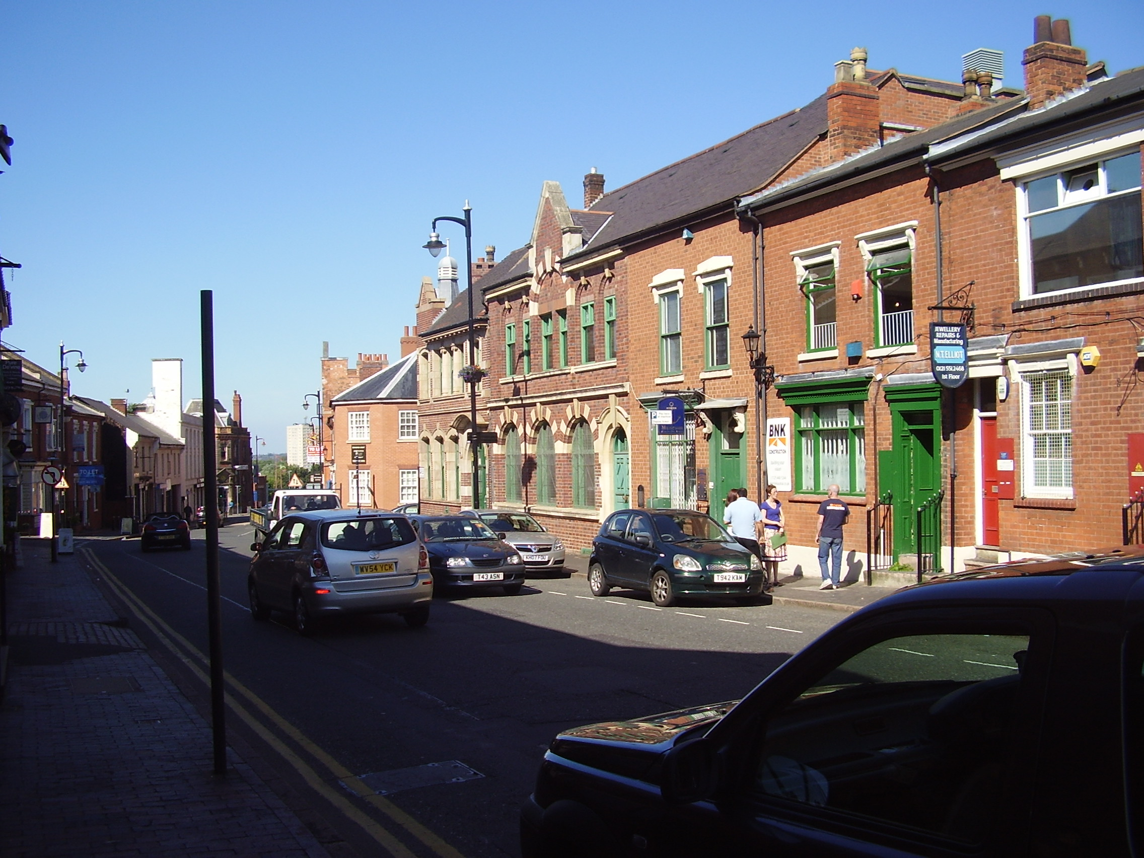 Museum of the Jewellery Quarter Vyse Street 2008
