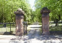 Main Entrance to Key Hill Cemetery in The Jewellery Quarter Birmingham Photo Joseph Burke 2008