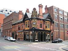 Queen's Arms Pub Newhall Street Jewellery Quarter Birmingham 2008