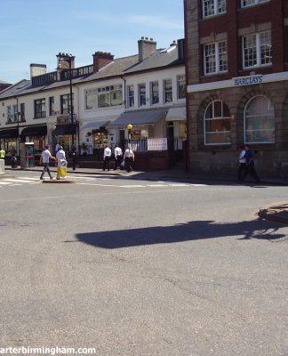 Heart of the Jewellery Quarter At Chamberlain Clock Photo Joseph Burke 2008