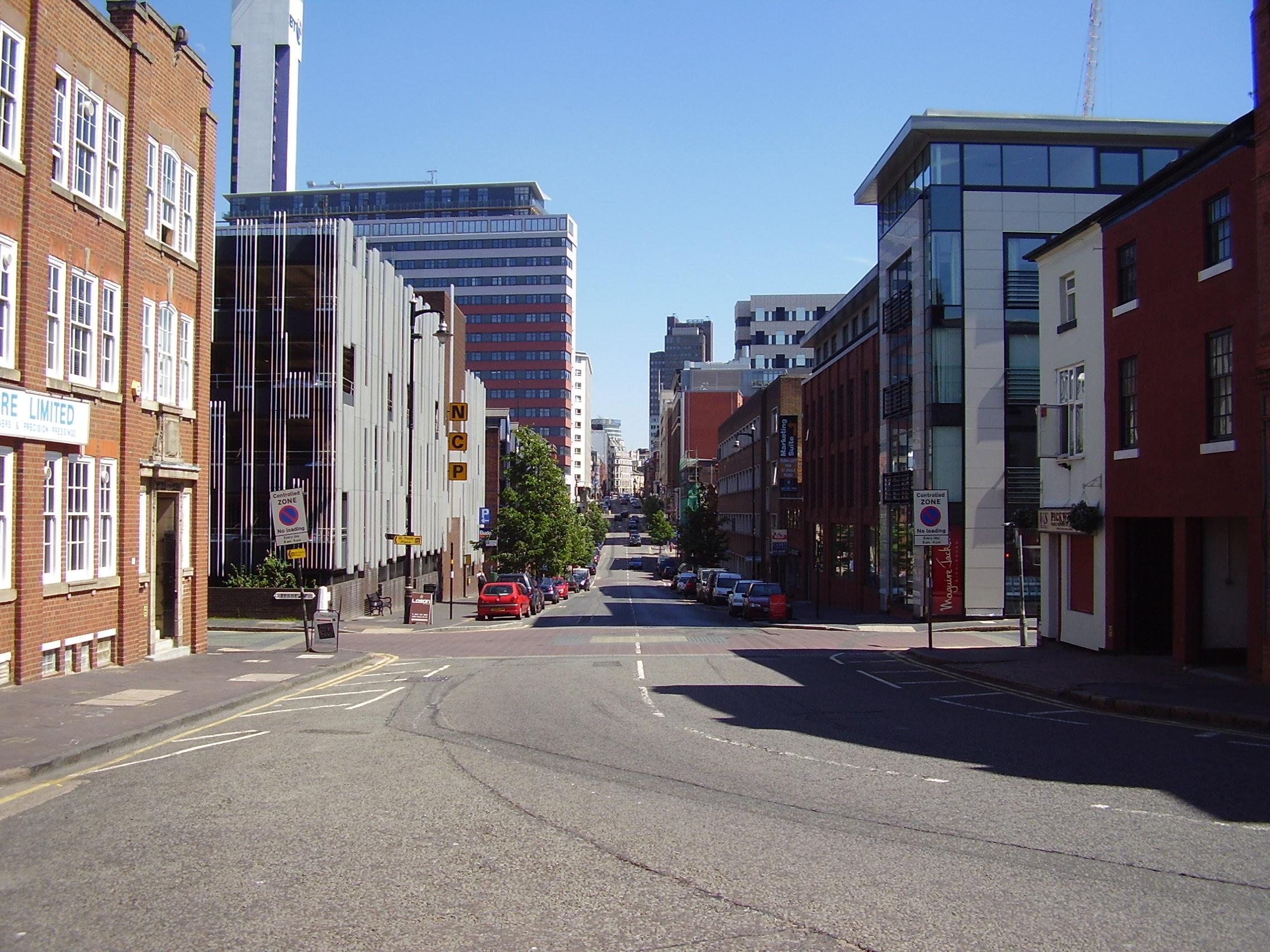 2008 Street view photo 16 of St Pauls Square Area of the Jewellery Quarter Birmingham