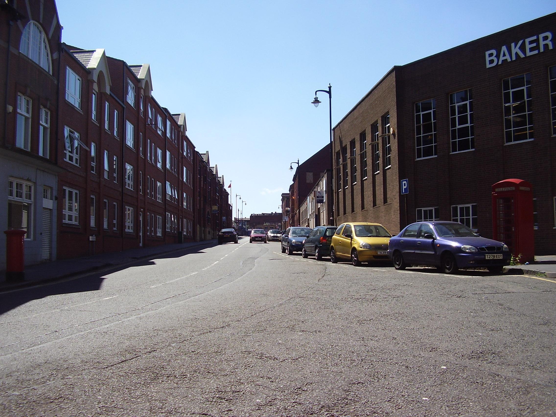 2008 Street view photo 15 of St Pauls Square Area of the Jewellery Quarter Birmingham