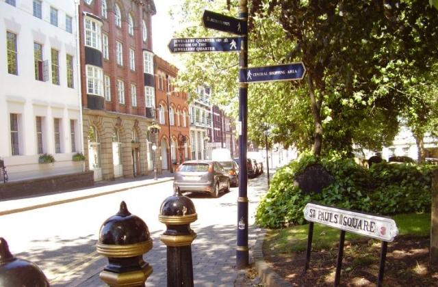 2008 Street view photo 10 of the Jewellery Quarter Birmingham