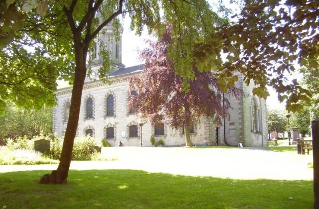 St Paul's Church Built in 1779  Grade 1 listed Birmingham Jewellery Quarter Photographer Joseph Burke 2008