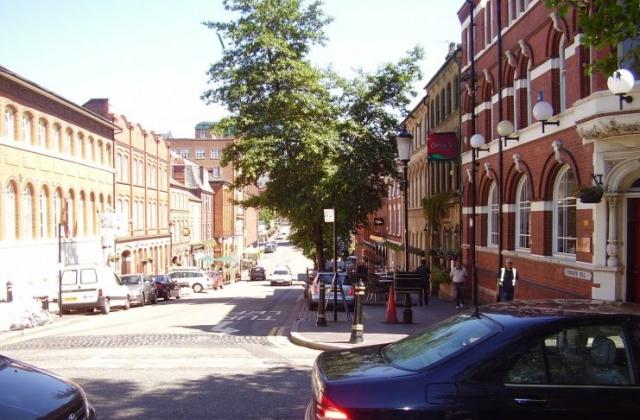2008 Street view photo 2 of the Jewellery Quarter Birmingham