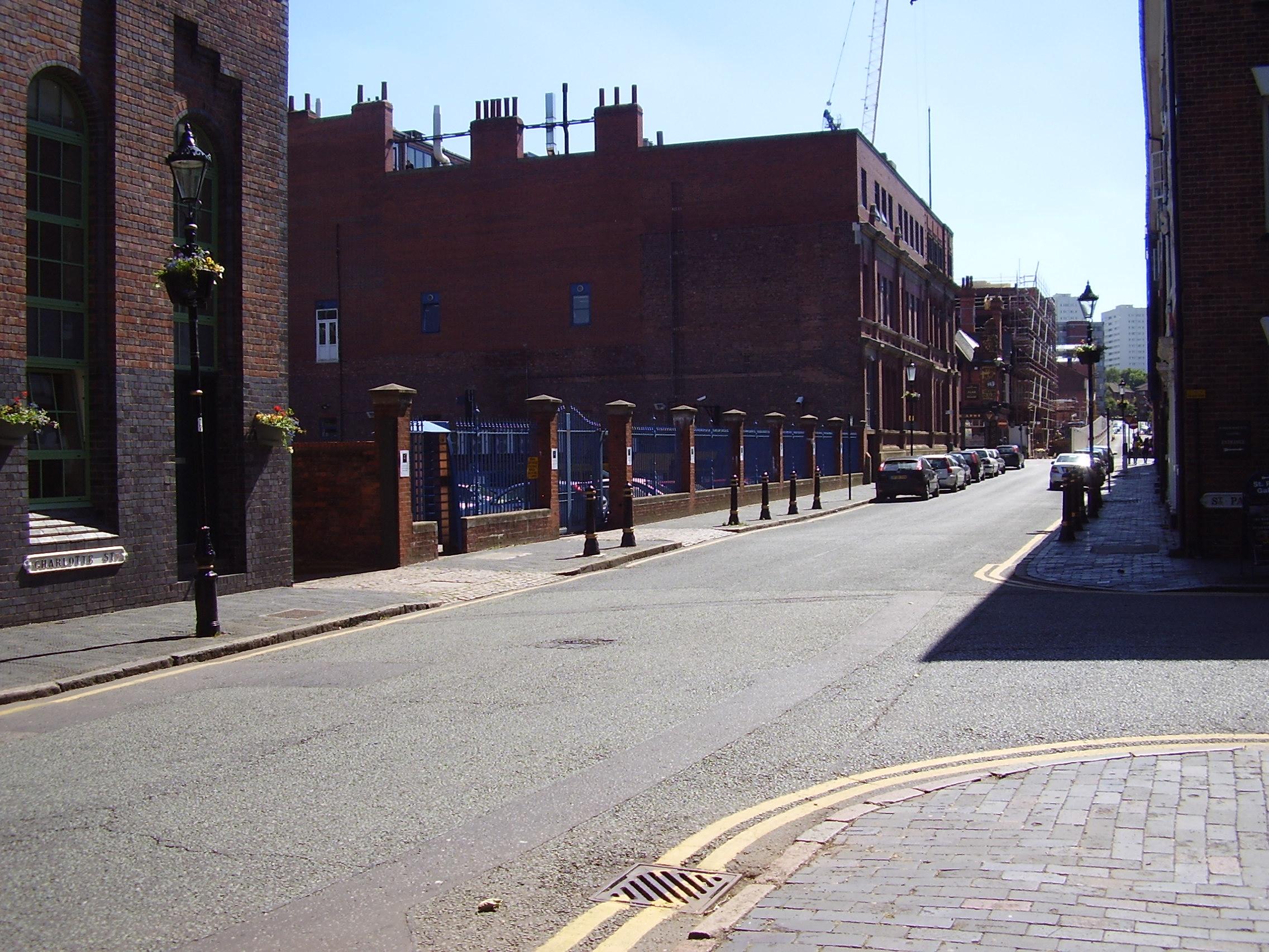 2008 Street view photo 1 of the Jewellery Quarter Birmingham