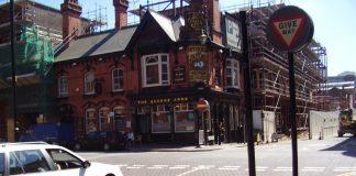 Rose Tavern Pub Newhall Street Jewellery Quarter Birmingham 2008