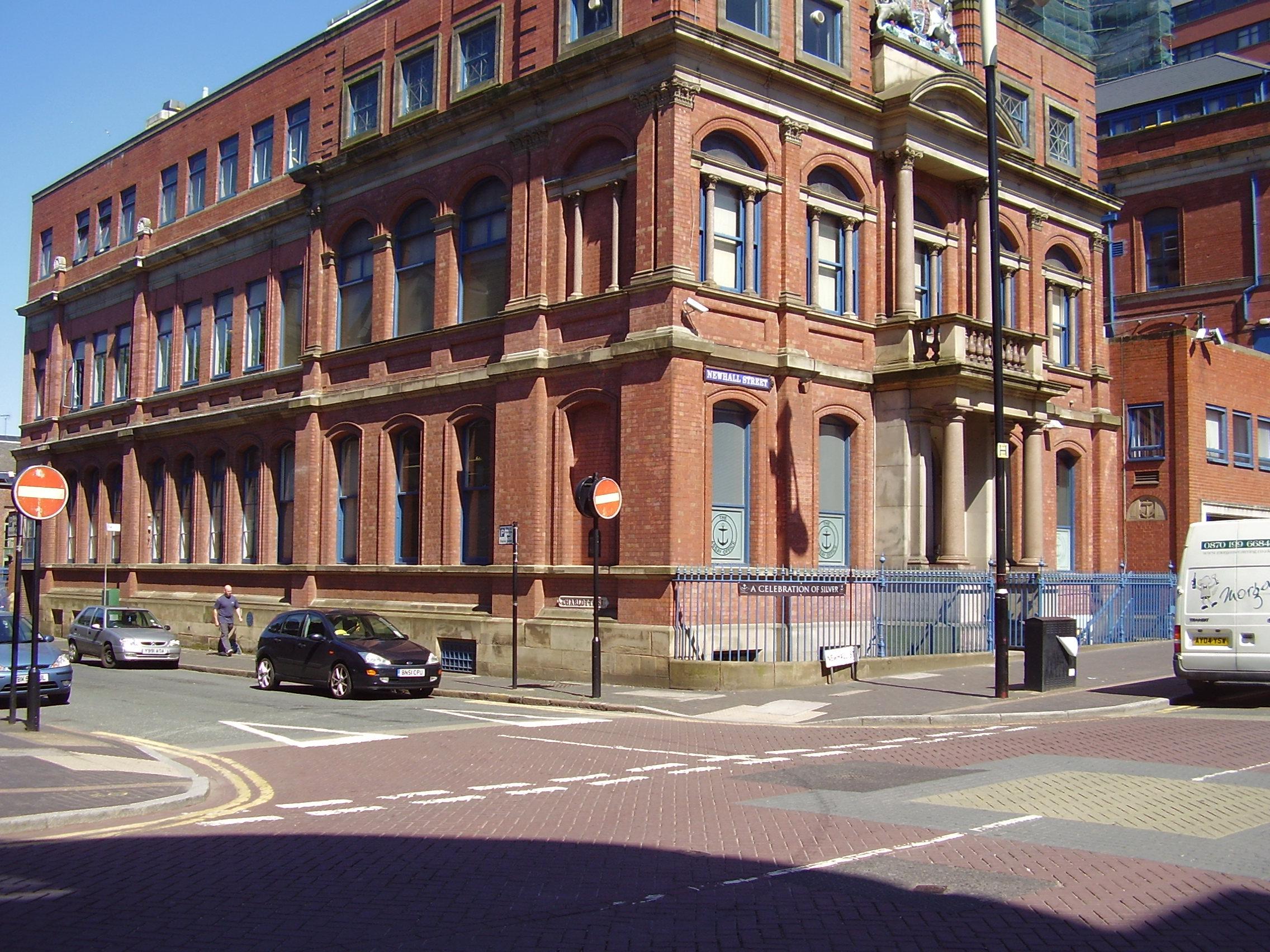 Photo 2008 The Birmingham Assay Office Built 1773 Newhall Street, Jewellery Quarter Birmingham