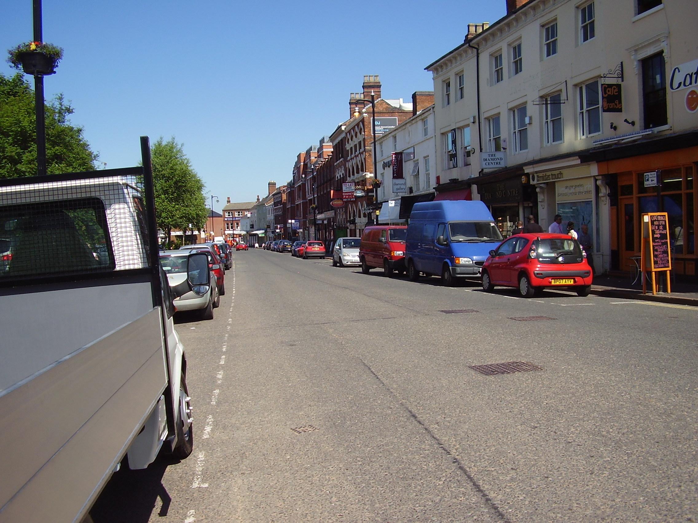 2008 Street view No 20 of the Jewellery Quarter Birmingham