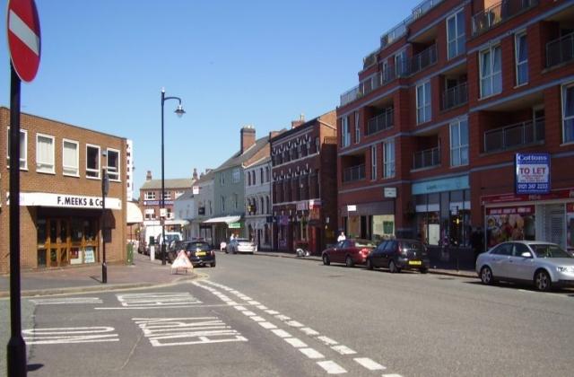 2008 Street view No 15 of the Jewellery Quarter Birmingham
