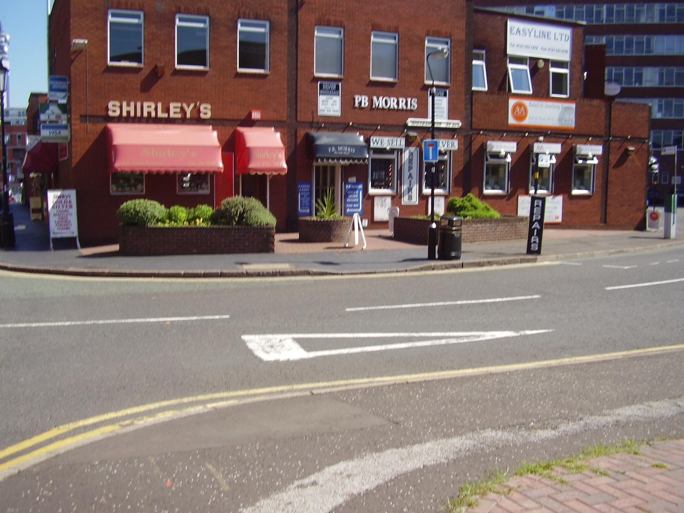 2008 Street view No 13 of the Jewellery Quarter Birmingham