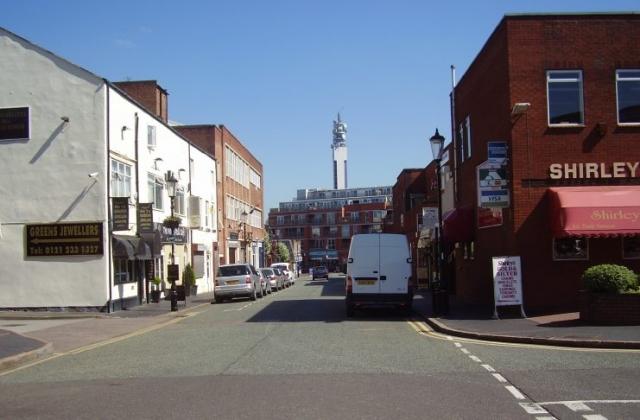 2008 Street view No 12 of the Jewellery Quarter Birmingham