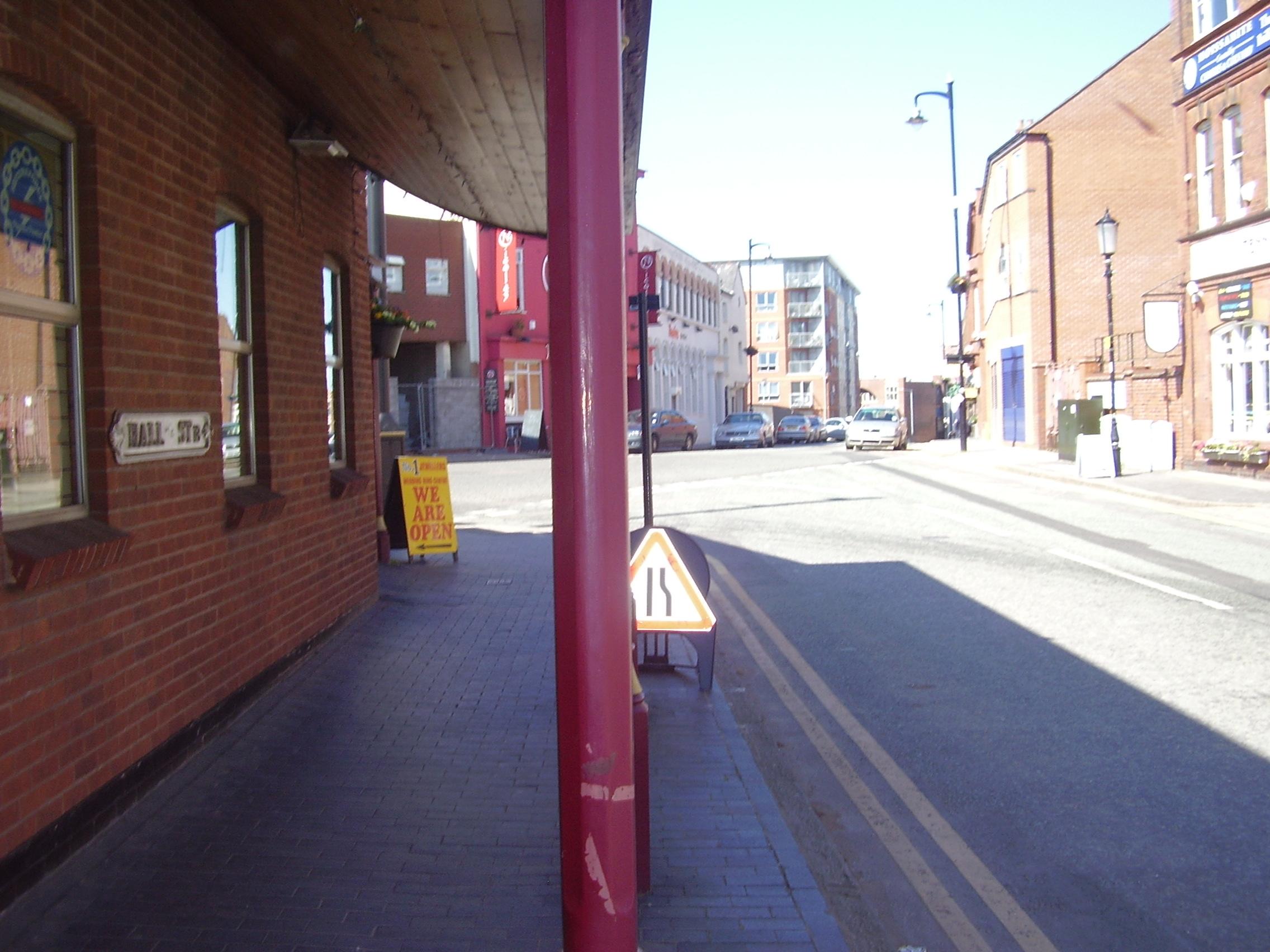 2008 Street view of the Jewellery Quarter Birmingham 7