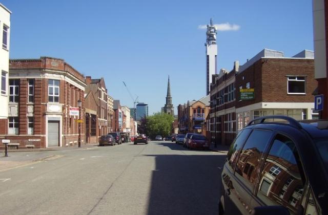 2008 Street view of the Jewellery Quarter Birmingham 5