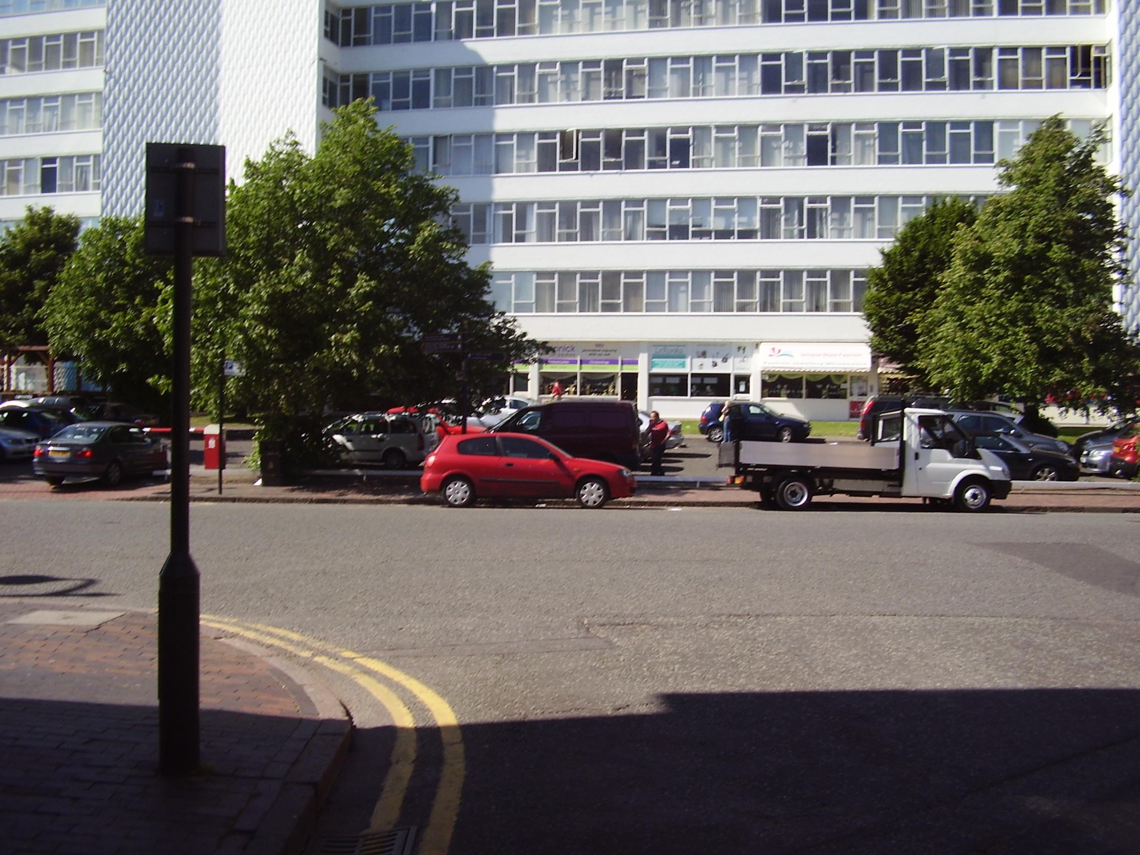 2008 Street view of the Jewellery Quarter in Birmingham 3