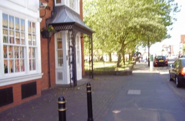 Warstone Lane or Mint Cemetery 2008 in Birmingham's Jewellery Quarter in the distance.