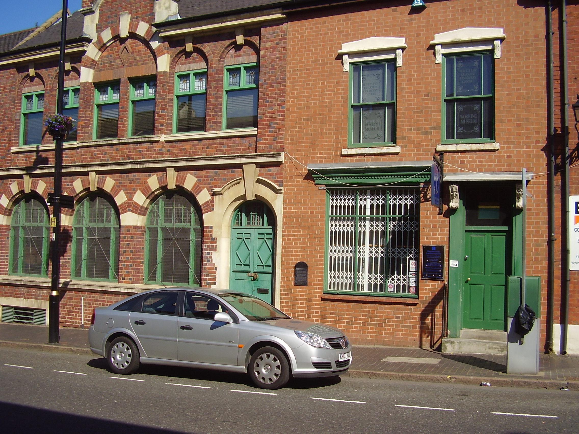 2008 Outside Museum of the Jewellery Quarter 75-80 Vyse St, Birmingham B18 6HA, UK