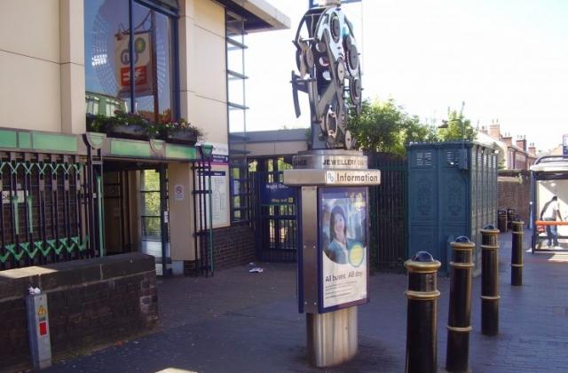 Jewellery Quarter Station Vyse Street 2008